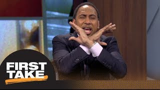 Stephen A., Ryan Clark debate Josh Norman's comments on Sam Darnold | First Take | ESPN