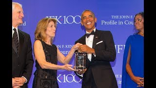 Profile In Courage Award Ceremony with President Barack Obama