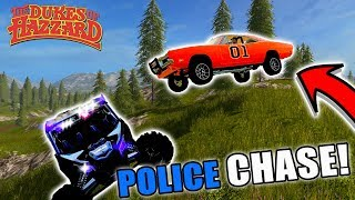 THE GENERAL IS BACK! | POLICE PURSUIT | OFF-ROAD | FARMING SIMULATOR 2017