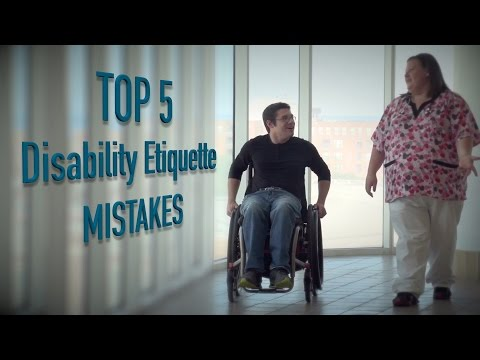 Top 5 - Mistakes dealing with disabled people
