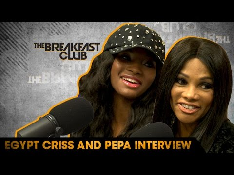 Egypt Criss and Pepa Discuss New Season of Growing Up Hip Hop