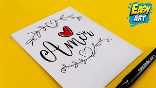 Letras bonitas de amor