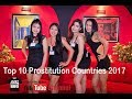 Top 10 Prostitution Countries 2017