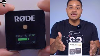 RODE WIRELESS GO Unboxing/First Impressions