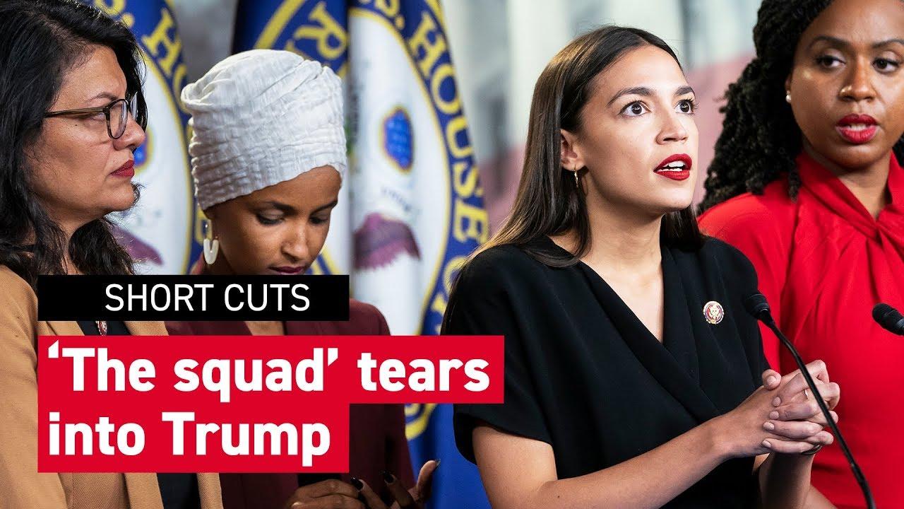 'The squad' responds to Trump tweetstorm