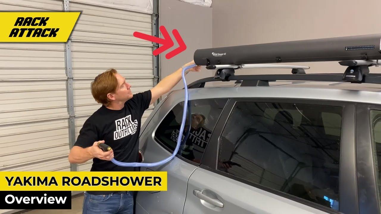 Yakima Roadshower Roof Rack Mounted Water Pressurized Water Storage Youtube