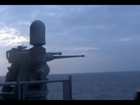 USS America Live-Fire Exercise