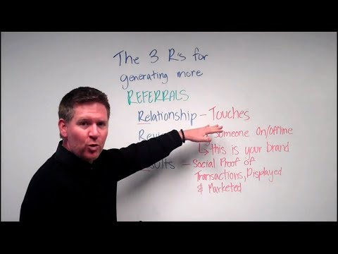 The 3 R's For Generating More Referrals