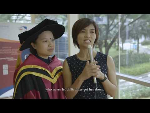 Doctor of Philosophy (PhD) experience by Dr Paula Png