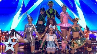 The Wonderful Wizards of Oz   Auditions Week 1  Britain's Got More Talent 2018