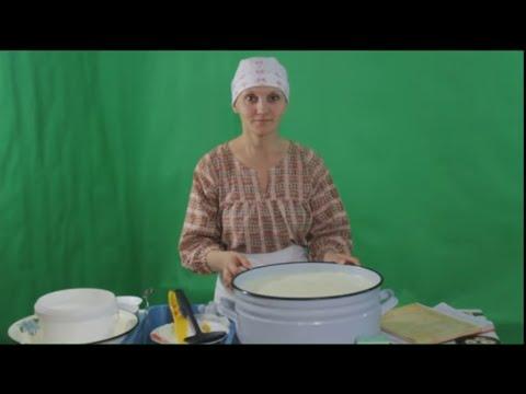 Как сварить российский сыр в домашних условиях из молока