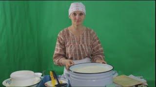 Сыр российский рецепт.Рецепт от  Ольги Елисеевой.
