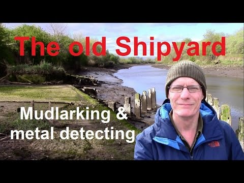 Thumbnail: Metal detecting and mudlarking at an old shipyard: old bottles, a mystery object and a parrot!
