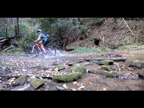 Mountain Biking Bear Creek Trail in Ellijay Georgia