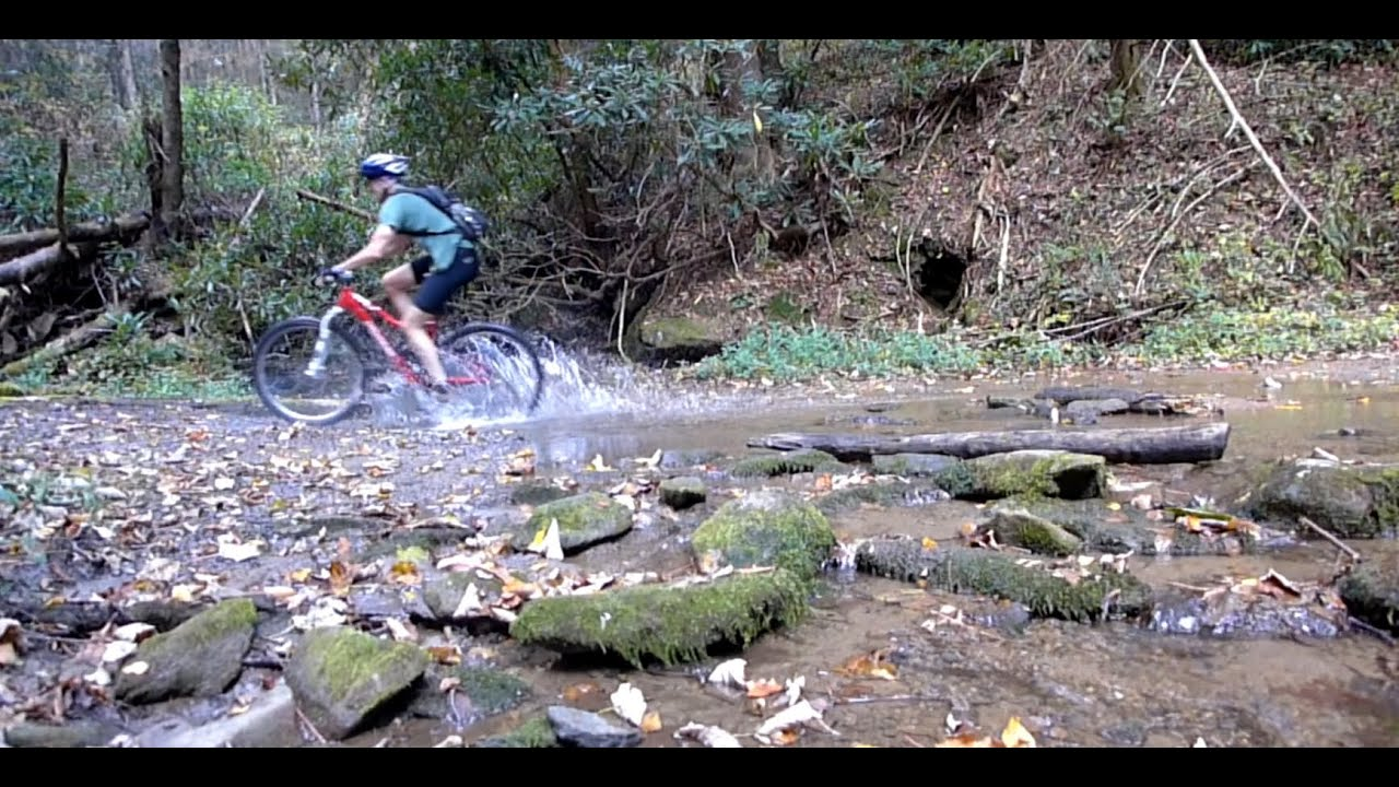 Mountain Biking Bear Creek Trail In Ellijay Georgia Youtube