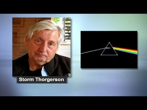 """Décès de Storm Thorgerson, créateur de la pochette """"The Dark Side of the moon"""""""
