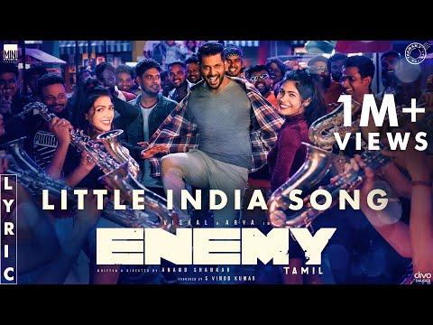 Little India - Lyric Video | Enemy (Tamil) | Vishal,Arya | Anand Shankar | Vinod Kumar | Thaman S