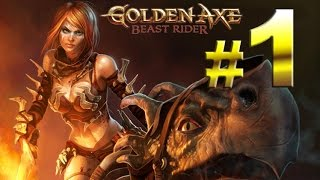 Golden Axe: Beast Rider - Isla de Axir - En Dificultad Experto y español - Parte 1