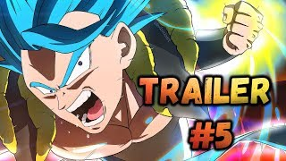 "Dragon Ball Super: Broly vs GOGETA Movie Trailer #5 - ""New"" Aura? SSB ""Evolved""? Breakdown"