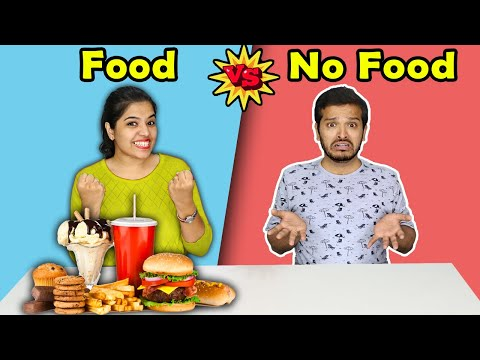 Food Vs No Food Challenge | Eating Competition Hungry Birds