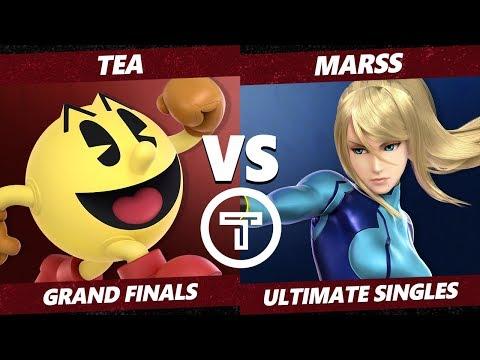 Thunder Smash 3 SSBU -  Tea (Pac-Man) VS PG Marss (ZSS) Smash Ultimate Grand Finals