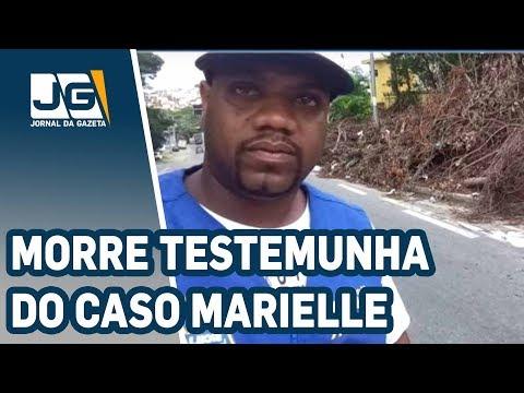 Assassinada testemunha do caso Marielle