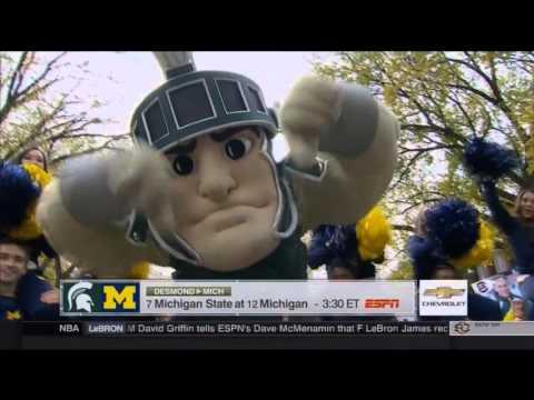 Steve Spurrier College Gameday Picks | LIVE 10 17 15