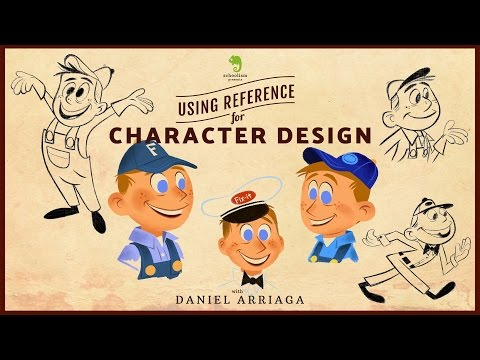 Reference tips with character design Daniel Arriaga