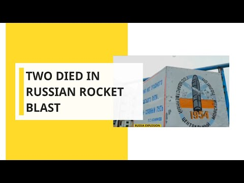 Russia Blast: Two Died, Russians Rush To Buy Iodine As Blast Causes Radiation Spike