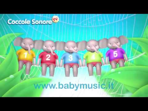 L'elefante si dondolava - Italian Songs for children by Coccole Sonore