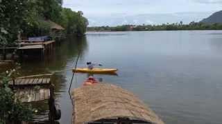 Kampot, Bicycles, & the Sea