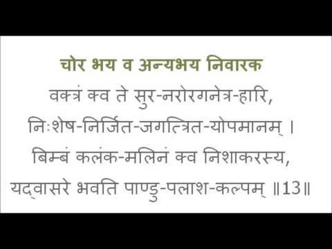 In Sanskrit Shri Bhaktamar Stotra By Anuradha Paudwal  ll श्री  भक्तामर स्तोत्र ll