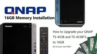 Qnap Desktop NAS TS-453B-4G 4-Bay RAID (4GB RAM)