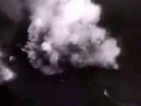 World War II Combat Footage - Sinking of the Tirpitz