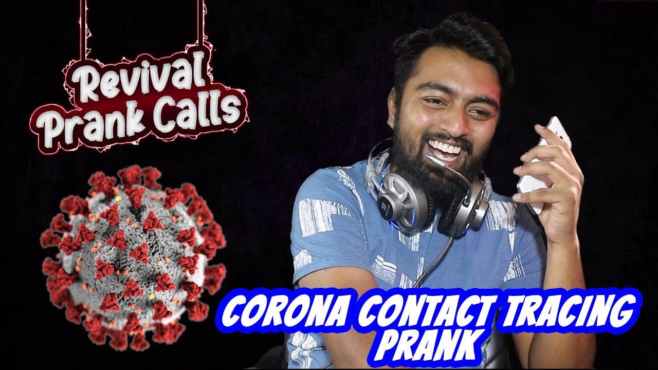 Corona Contact Tracing Prank    Revival Prank Calls