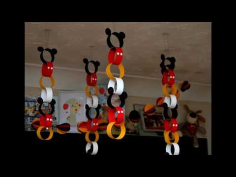 Mickey Mouse Party Themed Decorating Ideas