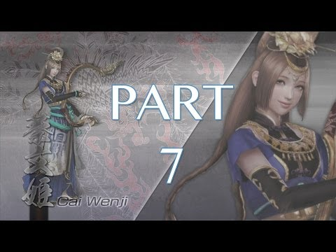 Dynasty Warriors 7: Xtreme Legends Walkthrough PT. 7 - Imperial Defense (Cai Wenji)