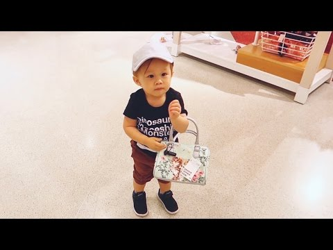 TODDLER SHOPPING SPREE!