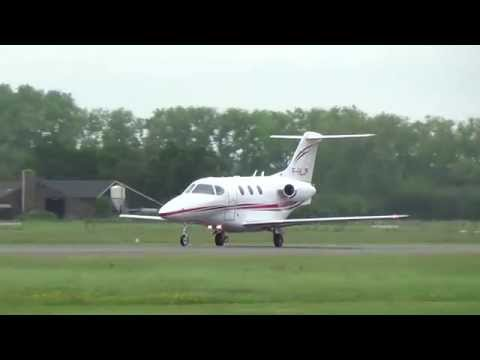 Takeoff F-HLJP Beechcraft 390 Premier I at Teuge Airport