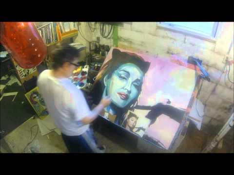 Julie Newmar by Wayne Bertsch