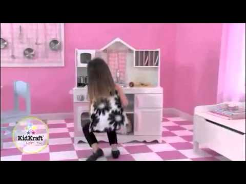 Kidkraft moderne country keuken per sempre toys youtube