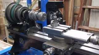 Make an ER collet mount for a threaded lathe spindle
