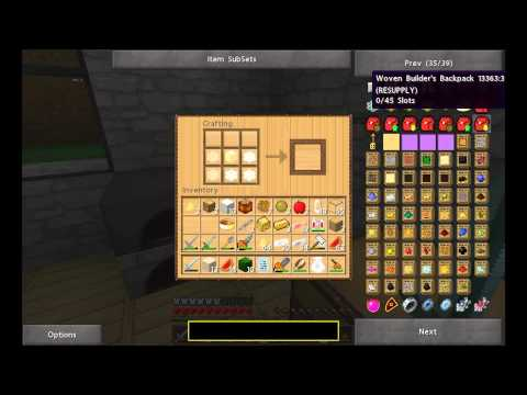 Minecraft 1.2.5 Let's Play - Episode 40- Apiarist's Backpack - Beekeeping Forestry