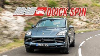 2019 Porsche Cayenne E-Hybrid | Quick Spin