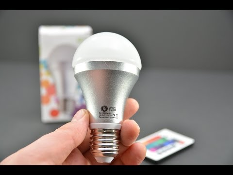 12 Dollar Color Changing LED Bulb with Remote