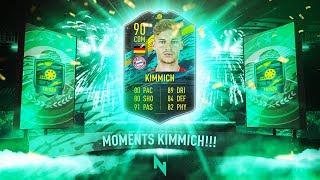 90 RATED PLAYER MOMENTS KIMMICH SBC + 50k PACK DAILY SBC! - FIFA 20 Ultimate Team