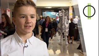 A 14 éves síbajnok, 3 nyelvet beszél, blogger-vlogger, sőt sneakers...