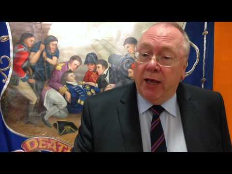 Orange Order Grand Secretary Drew Nelson dies aged 60