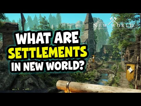 NEW WORLD MMO 🪓 What are Settlements?