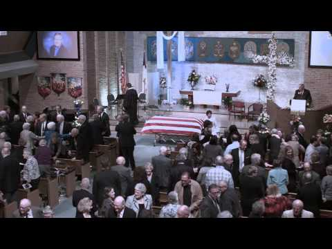 Walter C. Conahan funeral Expanded Full Version with 30-minute musical prelude, April 25, 2015